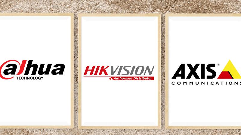 axis dahua hikvision logo